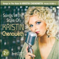 Kristin Chenoweth Songs In The Style Of... Karaoke CDGs